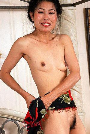 Wonderful mature asian hairy pussy
