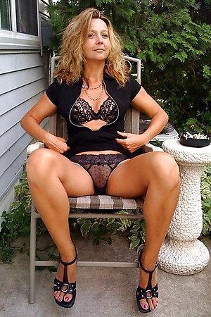 Naughty Cala older ladies in lingerie
