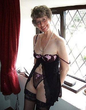Porn pics of hot older moms in lingerie