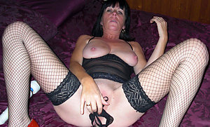 Sex pics of horny mature masturbation
