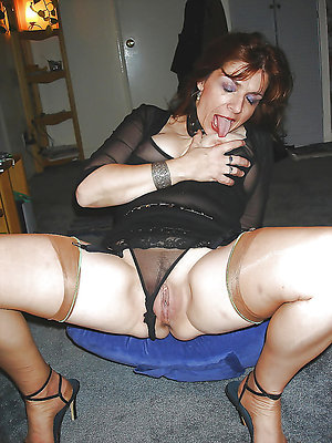Bitchy hairy mature moms stripped