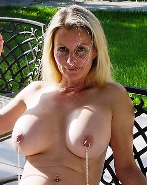 Amateur pics of  milf with huge nipples