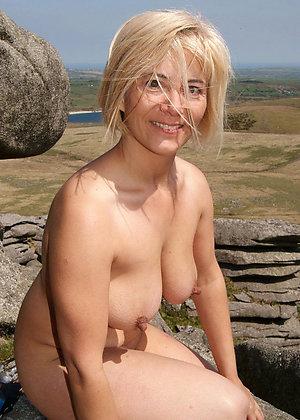 Sexy natural mature nipple pics