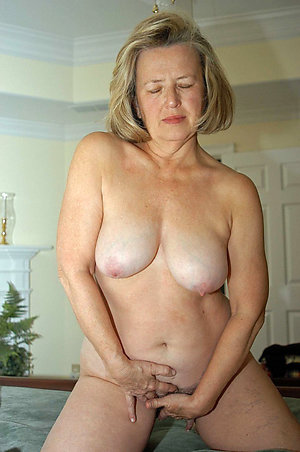 Inexperienced mature nude old women