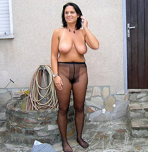 Best pics of matures in pantyhose