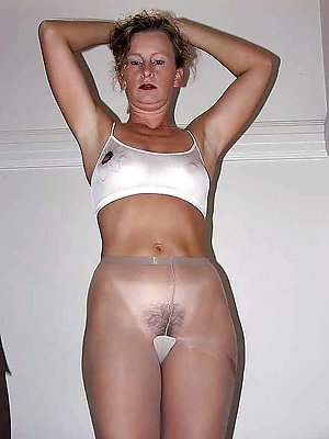 Naughty mature women in pantyhose