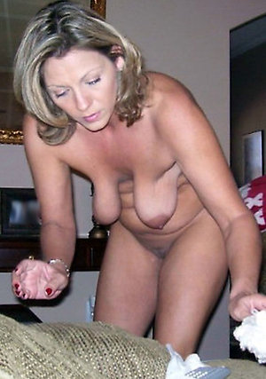 Saggy amateur tits