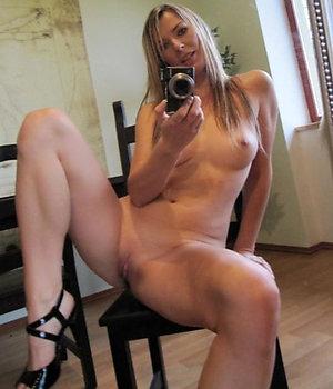 Busty amateur women naked selfshots