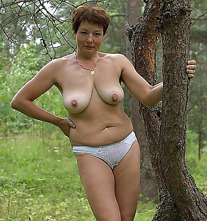 Crazy older women in panties pics
