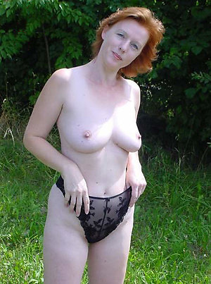 Naughty mature redhead milf sex pics