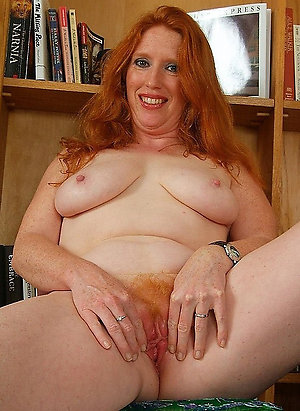 Magnificent redhead milf porn xxx