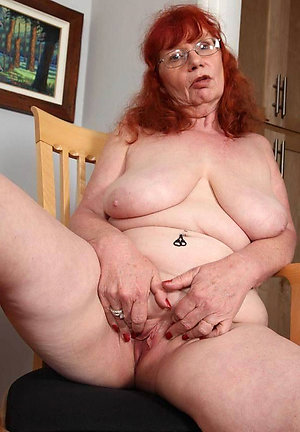 Sweet nude mature redheads porn photos