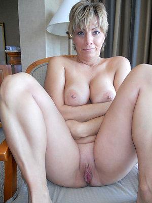 Amazing shaved pussy mature pics