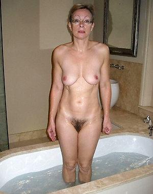 Classy small tit mature women photos