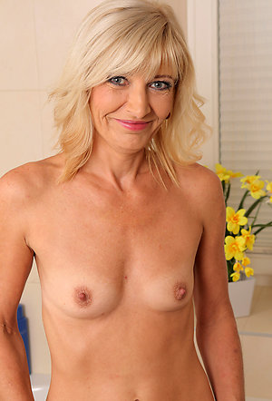 Whorish older ladies with small tits