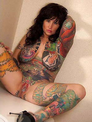 Tattooed Mature Pictures