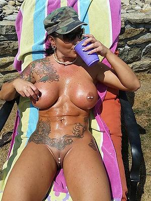Real hot tattoo mature porn