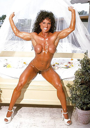 Perfect horny muscle mature women
