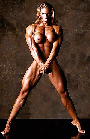 Hot horny mature muscle woman pics