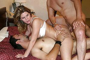 Best pics of mature threesomes porn