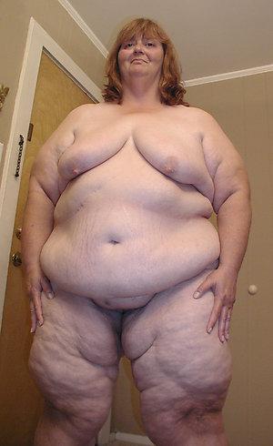 Favorite mature naked fat women