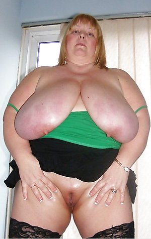 Experienced fat white mature pics