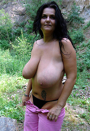 Nude old women with big tits pics