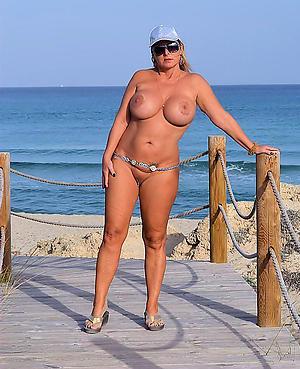 Nude mature beach boobs pics