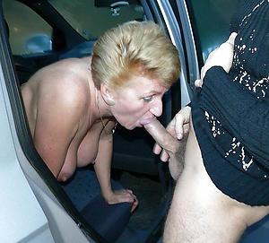Nude older women giving blowjobs