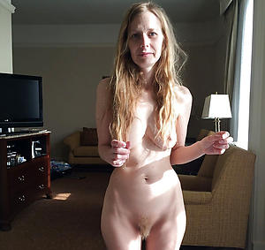 Slutty skinny adult saggy tits