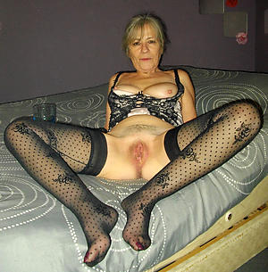 Busty women in stockings
