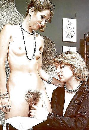 Pretty vintage mature tits