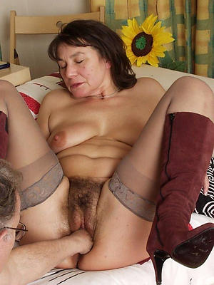 Naked unshaved mature pussy bungler pics