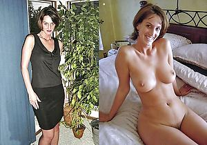 Pretty wife before and after