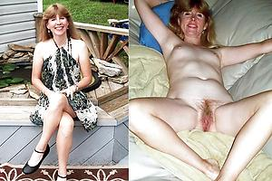 Free superannuated lady before added to after