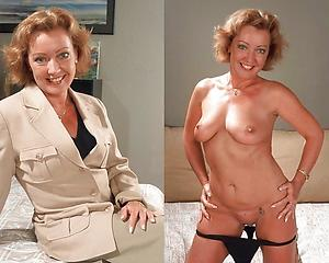 Free mature lady at the and after