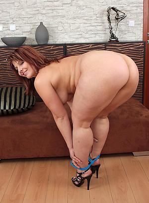 Horny grown-up fat ass