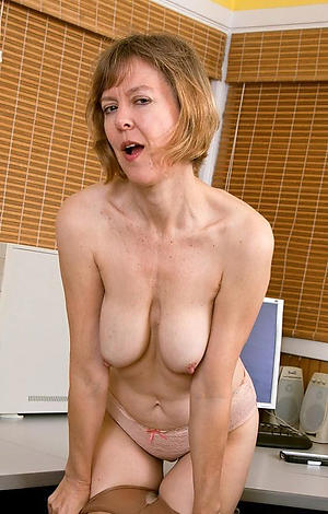 Disconsolate mature moms masturbating
