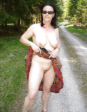 Naughty natural boobs mature