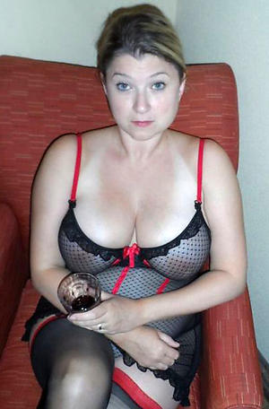 Vacant housewife european of age porn