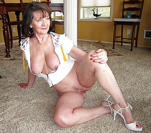 Unorthodox nifty mature ladies porn pics