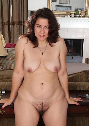 Unshaved mature women