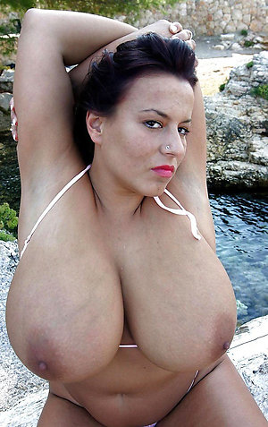 Amateur pics of curvy busty mature
