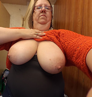 Beautiful busty natural mature