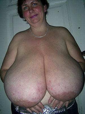 Pretty busty mature solo amateur pics