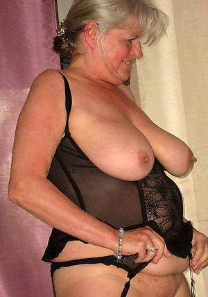 Naked mature older women
