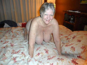 Staggering nude grandmothers