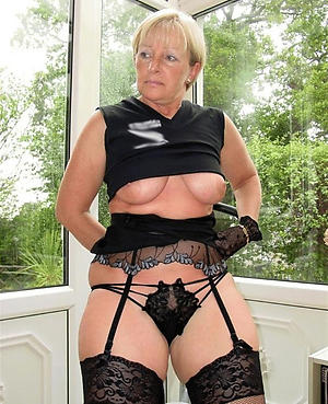 Busty sexy mature whore photo