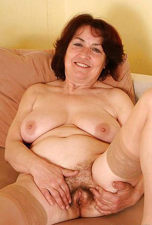 Crummy X-rated nude grandmas