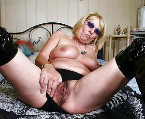 Inexperienced grandmother nude photos